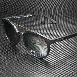 Burberry Silver Mirrored POLARIZED 53mm Sunglasses